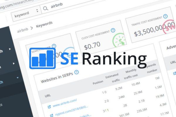 Monitoring pozycji w SE Ranking